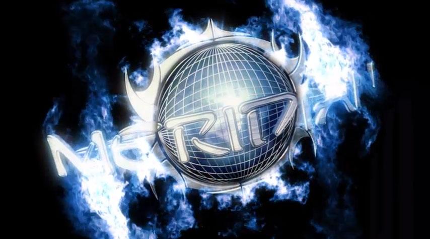 Brændende logo til Meridian